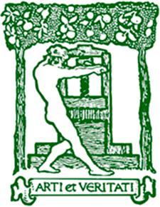 Arti et veritati. De la portada del libro Songs of the Slav de OTTO KOTOUK (Boston, 1919) Autor desconociodo / Dominio público. via Wikimedia Commons
