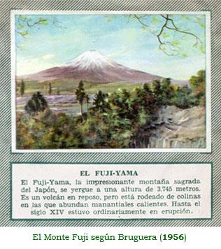 El Monte Fuji según Bruguera (1956)