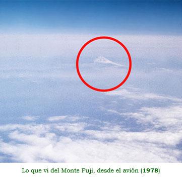 Lo que vi del Monte Fuji, desde el avión (1978)